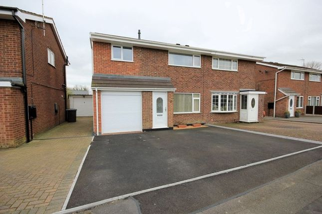 Thumbnail Semi-detached house for sale in Kempton Grove, Cheadle, Stoke-On-Trent