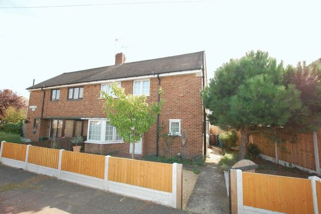 Thumbnail Semi-detached house for sale in Central Avenue, Aveley, South Ockendon