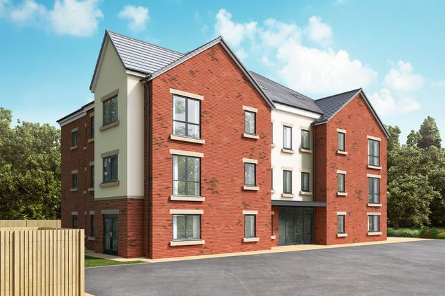 "Thumbnail Flat for sale in ""Aston Court - Type 4 - Second Floor"" at Loansdean, Morpeth"