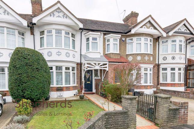 Thumbnail Terraced house for sale in Hillside Crescent, Cheshunt, Hertfordshire
