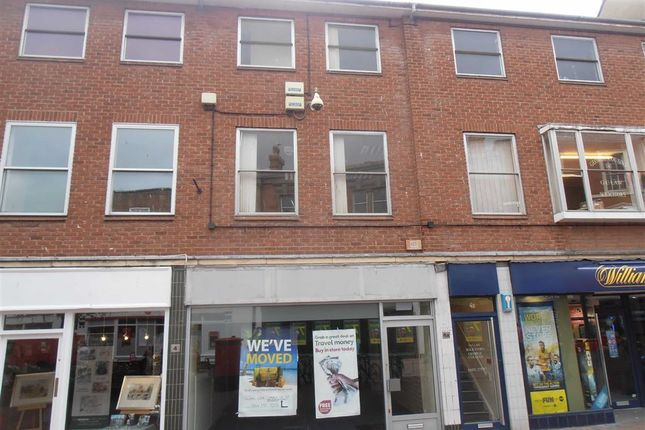 Retail premises to let in St Peter's Street, Hereford, Herefordshire