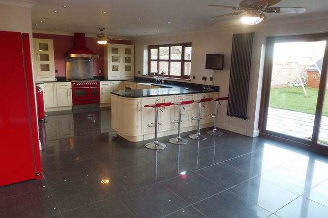 Thumbnail Detached house for sale in Hollycroft Road, Emneth, Wisbech