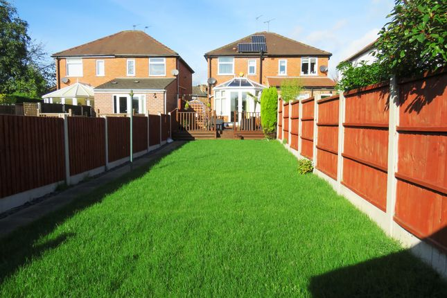 Thumbnail Semi-detached house for sale in Highfield Lane, Chaddesden, Derby