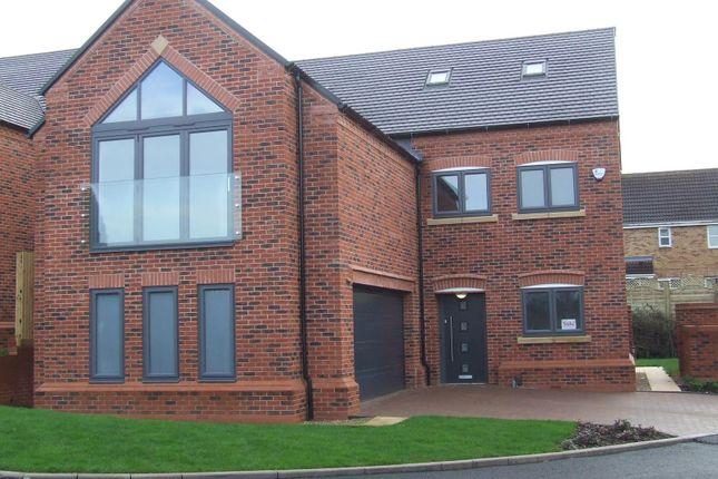 Thumbnail Detached house for sale in Swarkestone Road, Chellaston, Derby