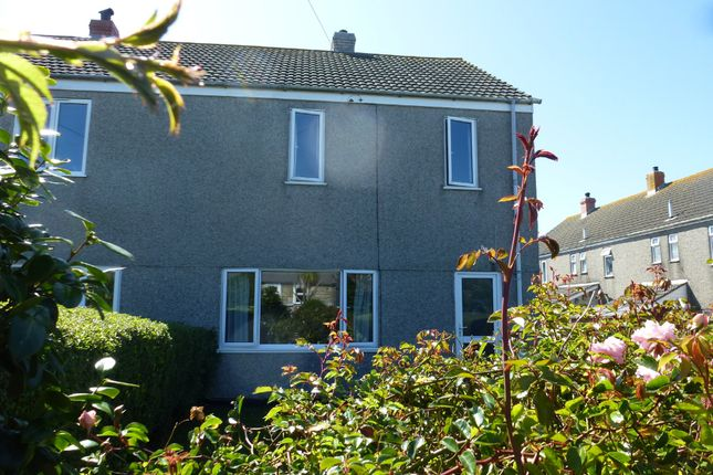 Thumbnail End terrace house for sale in Carn Ros, Lower Boscaswell, Pendeen