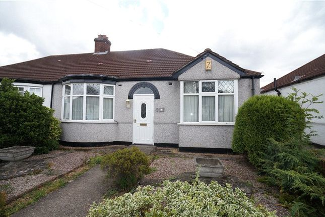 Thumbnail Detached bungalow to rent in Hillview Road, Chislehurst