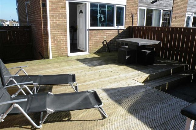 Thumbnail End terrace house for sale in Fern Valley, Crook, Co Durham