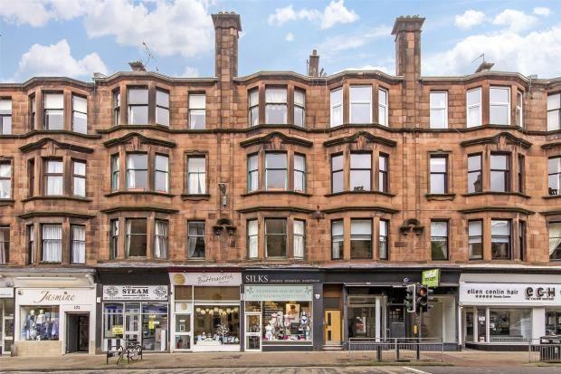 Thumbnail Flat for sale in 1/2, Hyndland Road, Hyndland, Glasgow