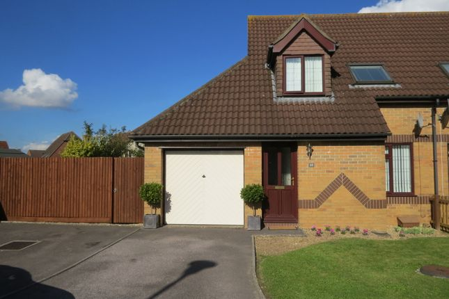 Thumbnail Semi-detached house to rent in Honeyfields, Gillingham, Dorset