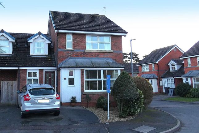 Thumbnail End terrace house for sale in Ascot Close, Stratford-Upon-Avon