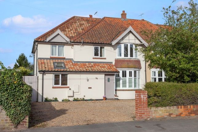Thumbnail Semi-detached house for sale in Ringsfield Road, Beccles