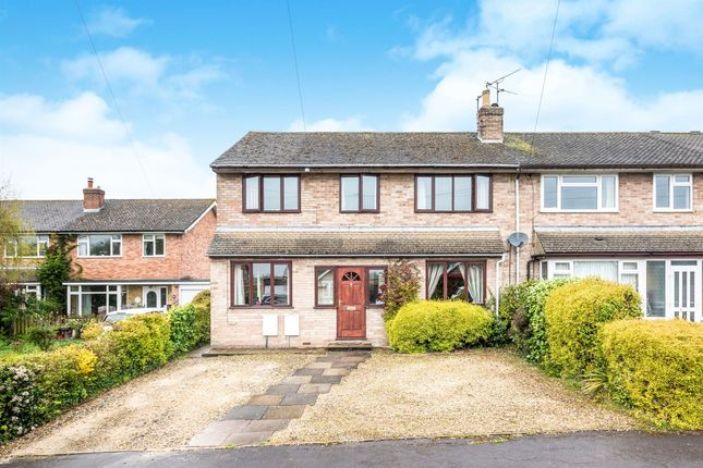 Thumbnail Semi-detached house for sale in Isis Close, Long Hanborough, Witney