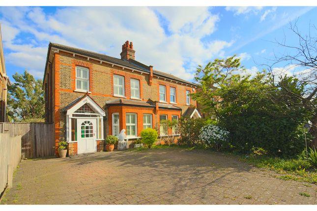 Thumbnail Semi-detached house for sale in Kent House Road, Beckenham