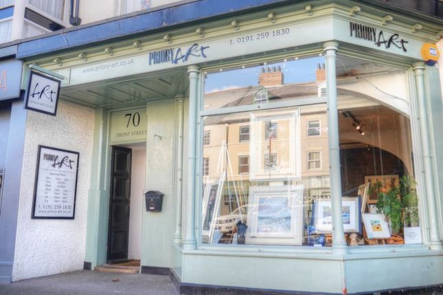 Thumbnail Retail premises for sale in Priory Art, 70 Front Street, Tynemouth