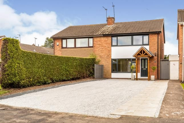 Thumbnail Semi-detached house for sale in Millbank, Emscote, Warwick