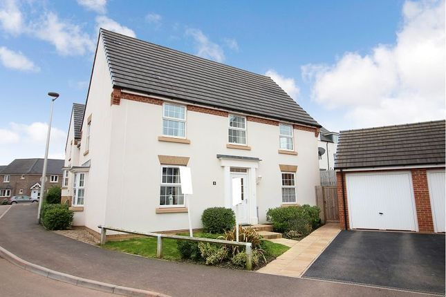 Thumbnail Detached house for sale in Cambridge Way, Cullompton