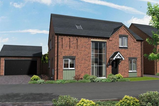 Thumbnail Detached house for sale in Warton Lane, Austrey, Atherstone