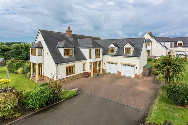 Thumbnail Detached house for sale in Kings Hill Meadow, Bude, Cornwall