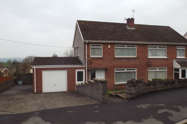 3 bed semi-detached house for sale in Brynmorlais, Bryn, Llanelli