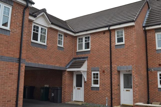 Thumbnail Town house to rent in Clyde Street, Hilton, Derby
