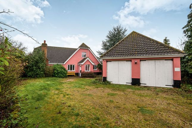 Thumbnail Bungalow for sale in Westhorpe Road, Finningham, Stowmarket