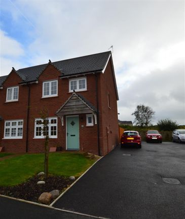 Thumbnail Semi-detached house for sale in Ffordd Dol Y Coed, Llanharan, Pontyclun