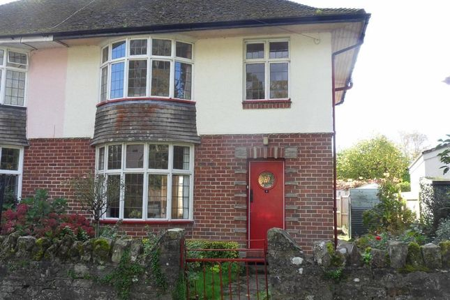 Thumbnail Semi-detached house for sale in Conigar Crescent, Usk, Monmouthshire