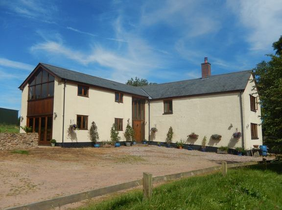Thumbnail Farmhouse for sale in Oakford, Tiverton