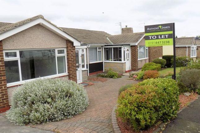 Thumbnail Bungalow to rent in Broadmeadows, East Herrington, Sunderland
