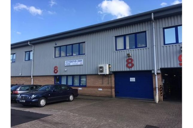 Thumbnail Warehouse for sale in Blenheim Court, Brownfields, Welwyn Garden City