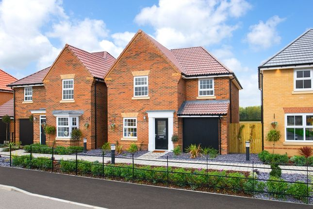 """3 bed detached house for sale in """"Abbeydale"""" at Kingston Way, Market Harborough LE16"""
