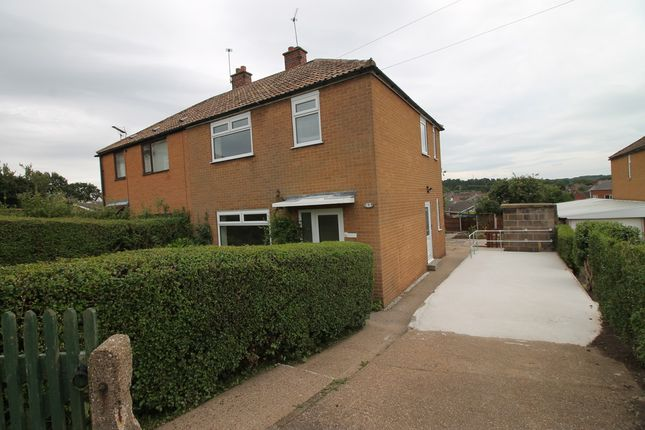 Thumbnail Semi-detached house to rent in Mount Crescent, Warsop, Mansfield