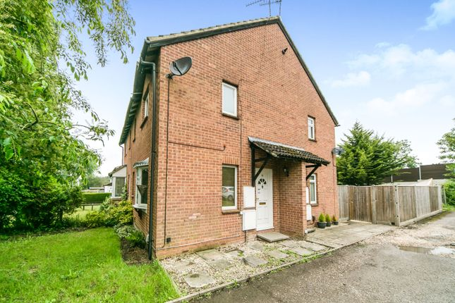 Thumbnail End terrace house to rent in Caistor Close, Calcot, Reading