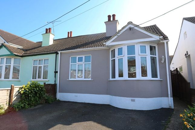 Thumbnail Semi-detached bungalow for sale in The Crescent, Hadleigh, Benfleet