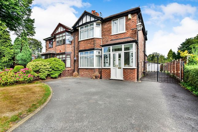 Thumbnail Semi-detached house for sale in Altrincham Road, Manchester