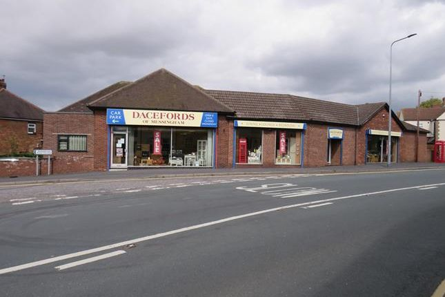 Thumbnail Retail premises for sale in Northfield Road, Messingham, Scunthorpe, North Lincolnshire