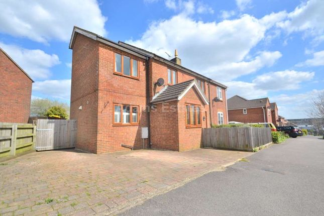 Thumbnail End terrace house to rent in Hillview Road, Basingstoke