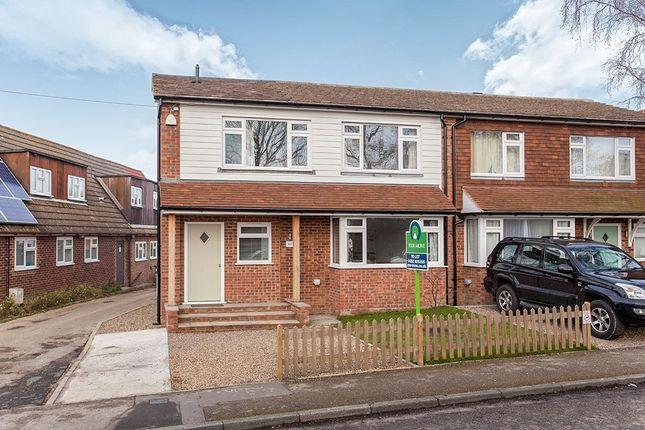 Thumbnail Semi-detached house to rent in Hastings Road, Pembury, Tunbridge Wells