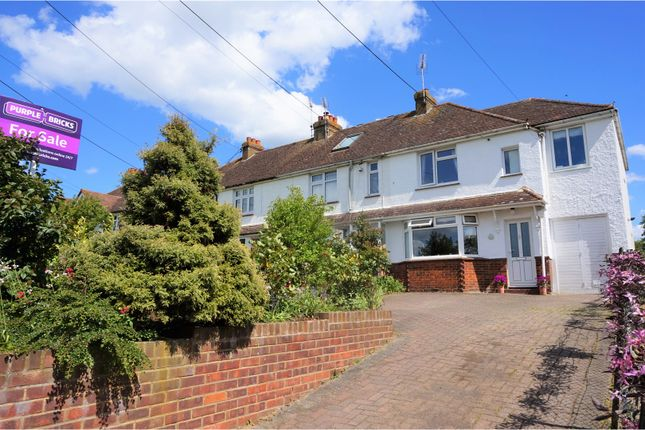 Thumbnail End terrace house for sale in Wrens Road, Borden