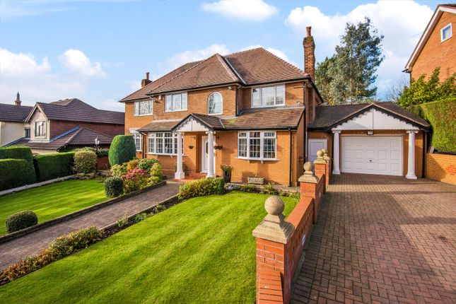 Thumbnail 5 bedroom detached house for sale in Sefton Drive, Worsley, Manchester
