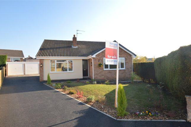 Thumbnail Detached bungalow for sale in Clayton Avenue, Kippax, Leeds, West Yorkshire