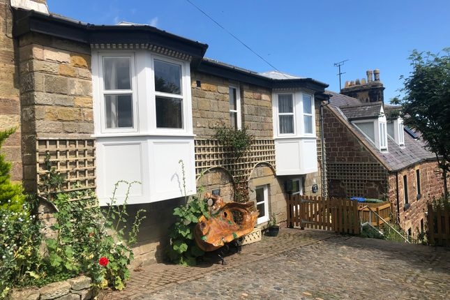 Thumbnail 3 bed terraced house to rent in Prospect Place, Alnmouth, Northumberland