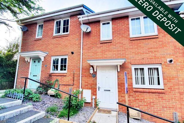 2 bed property to rent in Clos Ennig, Bettws, Newport NP20