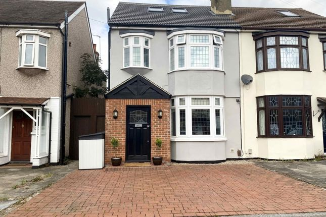 Thumbnail Semi-detached house for sale in Dymoke Road, Hornchurch