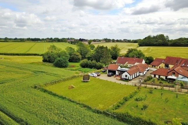 Thumbnail Barn conversion for sale in The Turnpike, Bunwell, Norwich