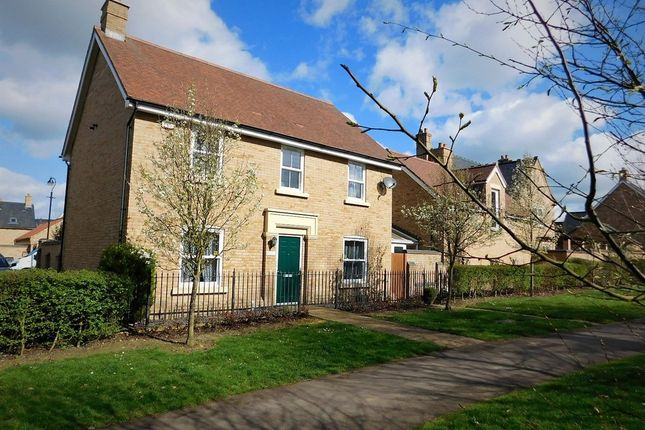 Thumbnail Detached house for sale in Faraday Gardens, Stotfold, Herts