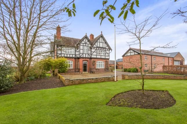Thumbnail Detached House For Sale In Nantwich Road Middlewich Wimboldsley Cheshire