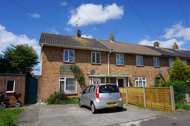 Thumbnail End terrace house for sale in Raleigh Way, Goring-By-Sea, Worthing
