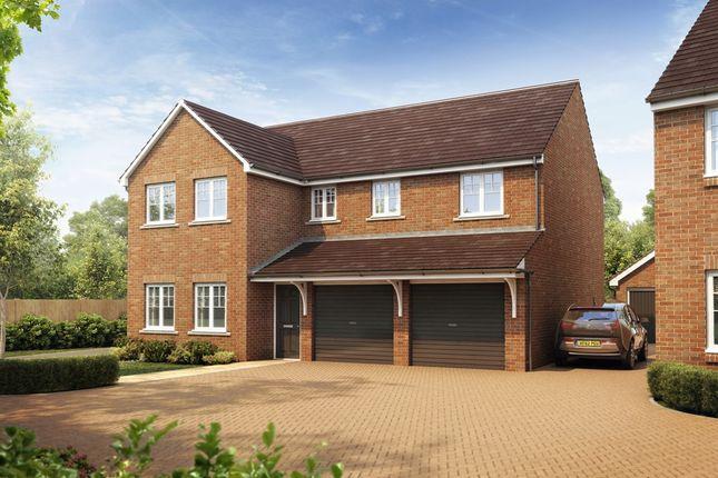 "Thumbnail Detached house for sale in ""The Fenchurch"" at West Cross Lane, Mountsorrel, Loughborough"
