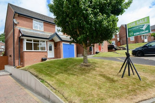 Thumbnail Detached house for sale in Hexham Close, Accrington